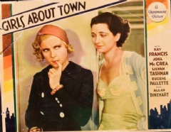 Girls About Town 1931 DVD - Kay Francis / Joel McCrea
